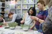 Школа флористики в городе Красноярске