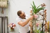 """Мастеркласс в Калининграде приуроченный к открытию салона цветов """"Розенштрассэ"""""""