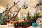 Новогодний воркшоп в декабре 2014, салон флористики Славы Роска