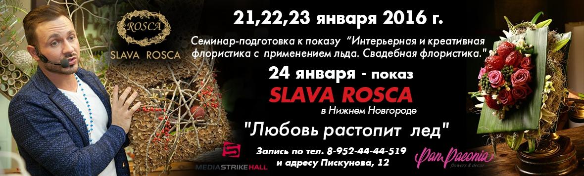 """Семинар Славы Роска """"Любовь растопит лед"""" Н.Новгород 21.01"""