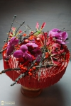 Букет новогодний - Красная бесконечность