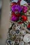 Новогодняя подвесная интерьерная композиция - Новогодние кольца