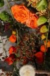 Композиция цветов  - Бесконечность