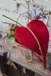 - Сердце из войлока