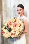 Букет невесты  - Солнечный диск