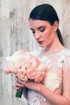 Букет невесты  - Персиковая долина