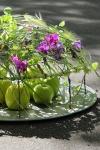 Композиция цветов  - Яблочный спас