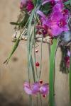 Букет с гвоздиками и орхидеями - Хорошие новости
