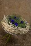 Букет с анемонами - Плетение Весны