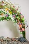 Композиция цветов  - Притяжение