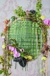 Композиция цветов  - Травяные  пяльца