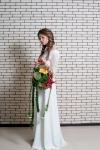 Букет невесты  - Цветы в клетке