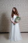 Букет невесты  - Белые нити