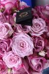 Букет из лиловых роз - Сердце Лилу