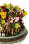 Композиция цветов с нарциссами и анемонами - Средиземный рай
