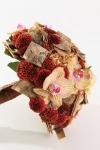 Букет невесты  - Букет с берестой