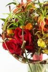 Букет невесты  - Страстное пламя