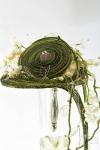 Букет невесты  - Зеленый водопад
