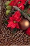 Композиция новогодняя - Подушка-шишка