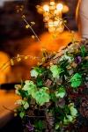 Букет с клематисом и хелеборусом - Сочинский лес