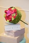 Букет невесты с розами и орхидеями - Отголоски лета