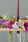 Новогодняя композиция - Снежная орхидея