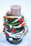 Новогодняя свеча - Новогодний аромат
