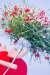 новогодняя композиция - Снежная ягода
