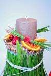 Новогодняя свеча - Еловая история