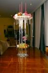 Новогодняя композиция - Снежный торт