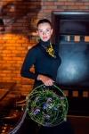 Букет невесты с орхидеями и клематисом - Поющие в терновнике