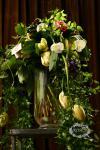 Букет с тюльпанами и орхидеями - Каскады Ниагары