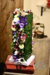 Композиция цветов из орхидей, анемон, роз - Цветочная феерия