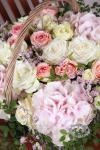 Композиция цветов летняя композиция - Ланч в сквере