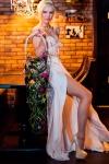 Букет невесты с жасмином и орхидеями - Цветочный водопад