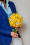 Букет невесты с розами Каталина - Солнечное настроение