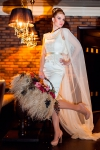 Букет невесты с орхидеями и розами - Невесомость