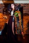 Букет невесты с ягодами и орхидеями - Водопад