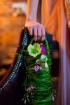 Букет невесты с жасмином и клематисом - Жасминовая дымка