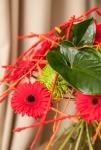 Букет с хризантемами - Восхищение