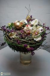 Букет новогодний - Зимнее дерево