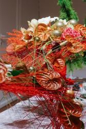 Интерьерная Новогодняя Инсталляция  - Магия красного