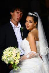 Букет невесты Свадебный букет - Благородство белого