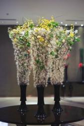 Композиция цветов  - Невесомость