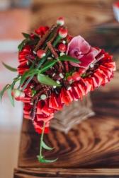 Композиция цветов  - Тепло сердец