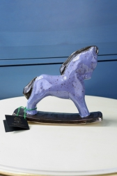Декоративная статуэтка - Лошадка лаванда