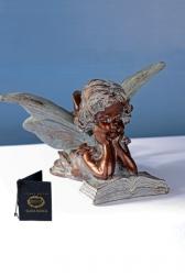 Декоративная статуэтка - Эльф с книгой