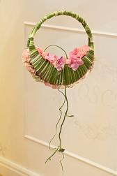 Букет невесты с гвоздиками и розами - Цветочная гармония