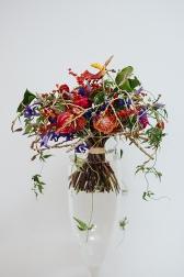 Букет с жасмином и розами - Какаду