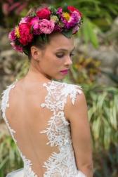 Букет невесты  - Венок Чарующая страсть
